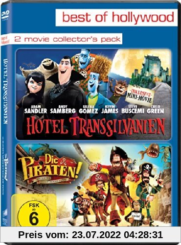 Best of Hollywood - 2 Movie Collector's Pack: Hotel Transsilvanien / Die Piraten - Ein ... [2 DVDs] von Genndy Tartakovsky