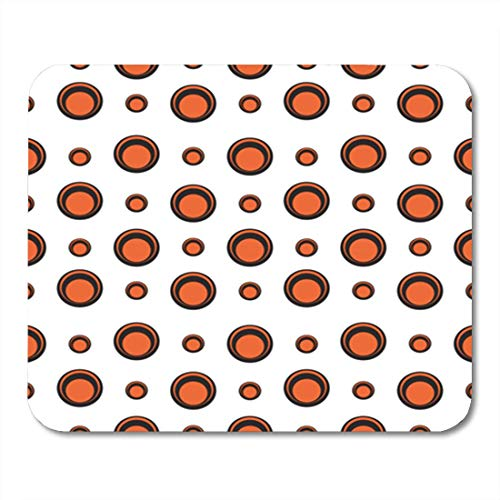 "Gaming Mauspads, Gaming Mouse Pad Abstract Seventies Mod Pattern Circle Geometric Graphic Modern Retro 11.8""x 9.8"" Decor Office Nonslip Rubber Backing Mousepad Mouse Mat von HOTNING"