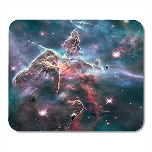 "Gaming Mauspads, Mystic Mountain Region in The Carina Nebula Imaged by Hubble Space Telescope of This 11.8""x 9.8"" Decor Office Computer Accessories Nonslip Rubber Backing Mousepad Mouse Mat von HOTNING"
