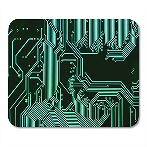 "HOTNING Gaming Mauspads, Gaming Mouse Pad Circuit Board Electronic Computer Hardware Technology Motherboard Digital Chip Tech 11.8""x 9.8"" Decor Office Nonslip Rubber Backing Mousepad Mouse Mat von HOTNING"