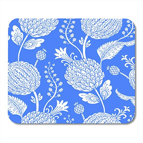 "HOTNING Gaming Mauspads, Gaming Mouse Pad Seamless Pattern with Fantasy Flowers Natural Wallpaper Floral Decoration Curl 11.8""x 9.8"" Decor Office Nonslip Rubber Backing Mousepad Mouse Mat von HOTNING"