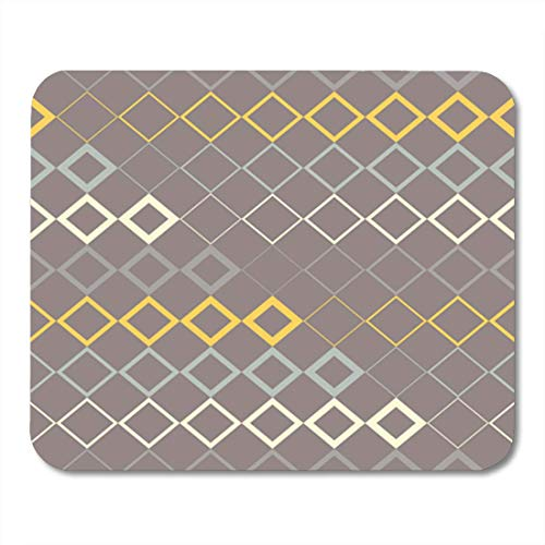 "HOTNING Gaming Mauspads, Gaming Mouse Pad Seamless Vector Background with Abstract Geometric Pattern Print Repeating Cloth 11.8""x 9.8"" Decor Office Nonslip Rubber Backing Mousepad Mouse Mat von HOTNING"