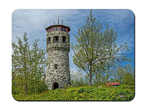 BGLKCS Mountain Fire Tower Lancaster New Hampshire - Customized Rectangle Non-Slip Rubber Mousepad Gaming Mauspads von HYYCLS