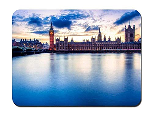BGLKCS Palace of Westminster - World- #41833 Mauspads Customized Rectangle Non-Slip Rubber Mousepad Gaming Mauspads 8.6x7.1 Inches von HYYCLS