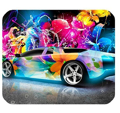 "HYYCLS Rectangle Non-Slip Mousepad Gaming Mauspads Lamborghini Murcielago Super Abstract Car Pattern,Size in 8.7"" x 7.08"" inch von HYYCLS"