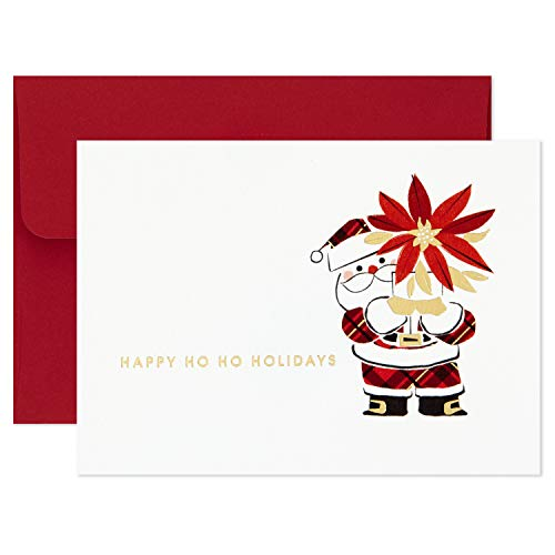 Hallmark Boxed Christmas Cards, Ho Ho Holidays (10 Cards with Envelopes) von Hallmark