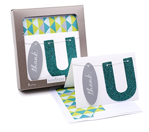 Hallmark Signature Thank You Cards (Thank U, 8 Thank You Notes with Envelopes) von Hallmark