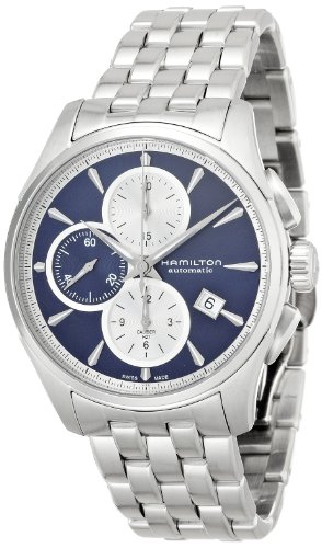 Hamilton Men's H32596141 Jazzmaster Auto Chrono Blue Watch von Hamilton