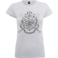 Harry Potter Draco Dormiens Nunquam Titillandus Frauen T-Shirt - Grau - S - Grau von Harry Potter