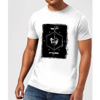 Harry Potter Harry Voldemort Wand Men's T-Shirt - White - XXL - Weiß von Harry Potter