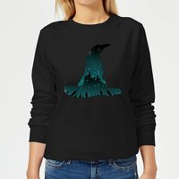 Harry Potter Sorting Hat Silhouette Women's Sweatshirt - Black - M - Schwarz von Harry Potter