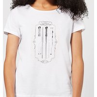 Harry Potter Wand Of Harry Potter Women's T-Shirt - White - XL - Weiß von Harry Potter