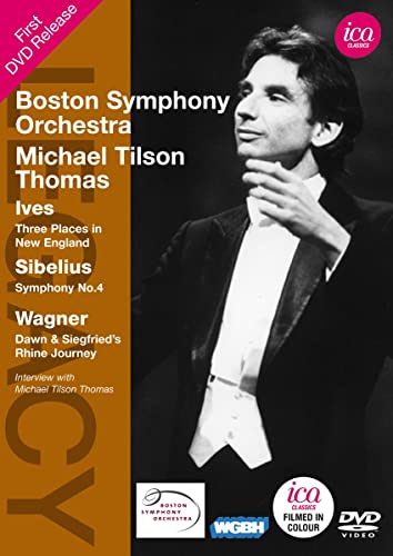 TILSON THOMAS: Ives/Sibelius/Wagner (Boston Symphony Orchestra, 1970) von ICA Classics