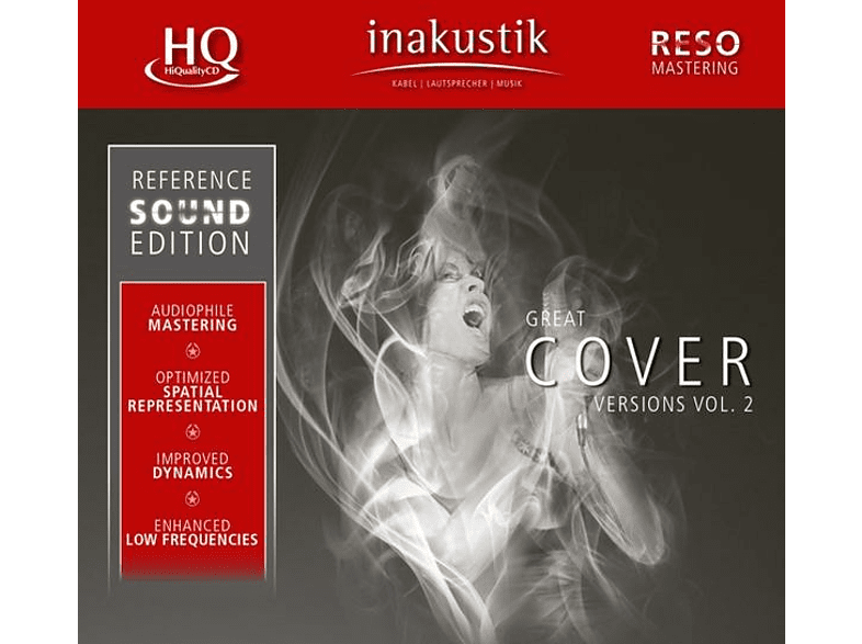 Various - Great Cover Versions,Vol.2 (HQCD) [CD] von INAKUSTIK