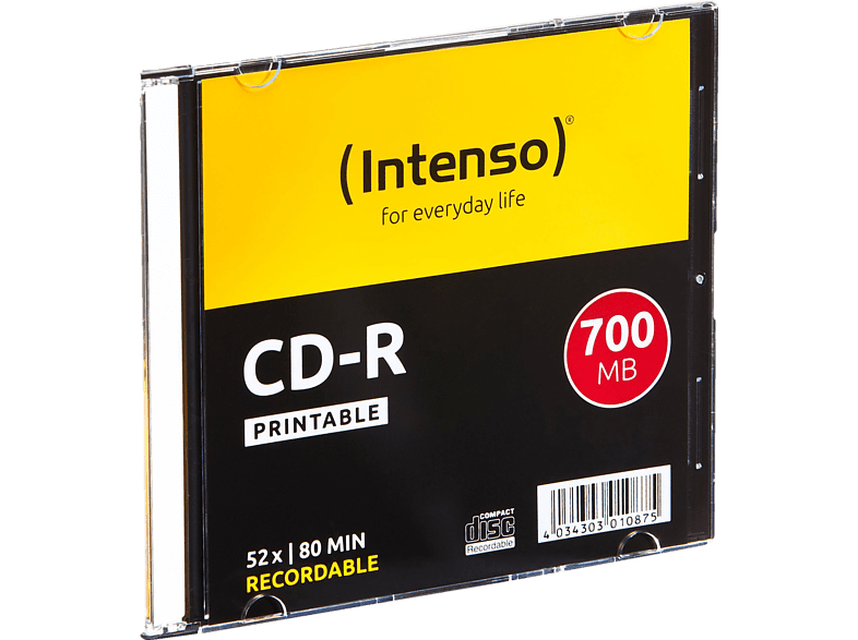INTENSO CD-R Printable Rohling von INTENSO