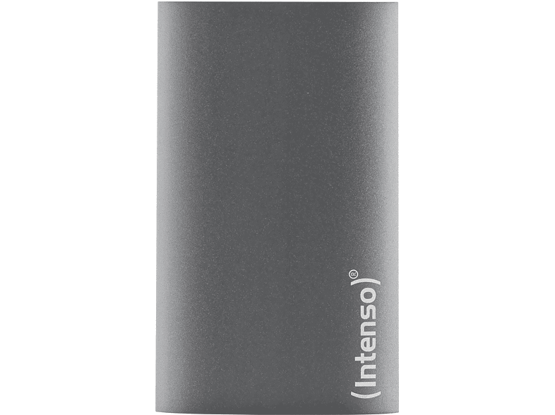 INTENSO Premium Edition, 128 GB SSD, 1.8 Zoll, extern, Anthrazit von INTENSO
