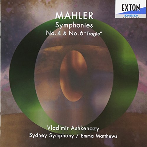 Vladimir Ashkenazy - Mahler: Symphony No. 4 & 6 (2CDS) [Japan CD] EXCL-101 von Indies Japan