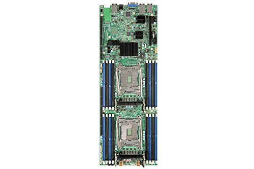 INTEL BBS2600TPR Server Board Supporting Two INTEL Xeon Prozessor E5-2600v3 16 DIMMs and 2x1Gb ethernet on Board von Intel