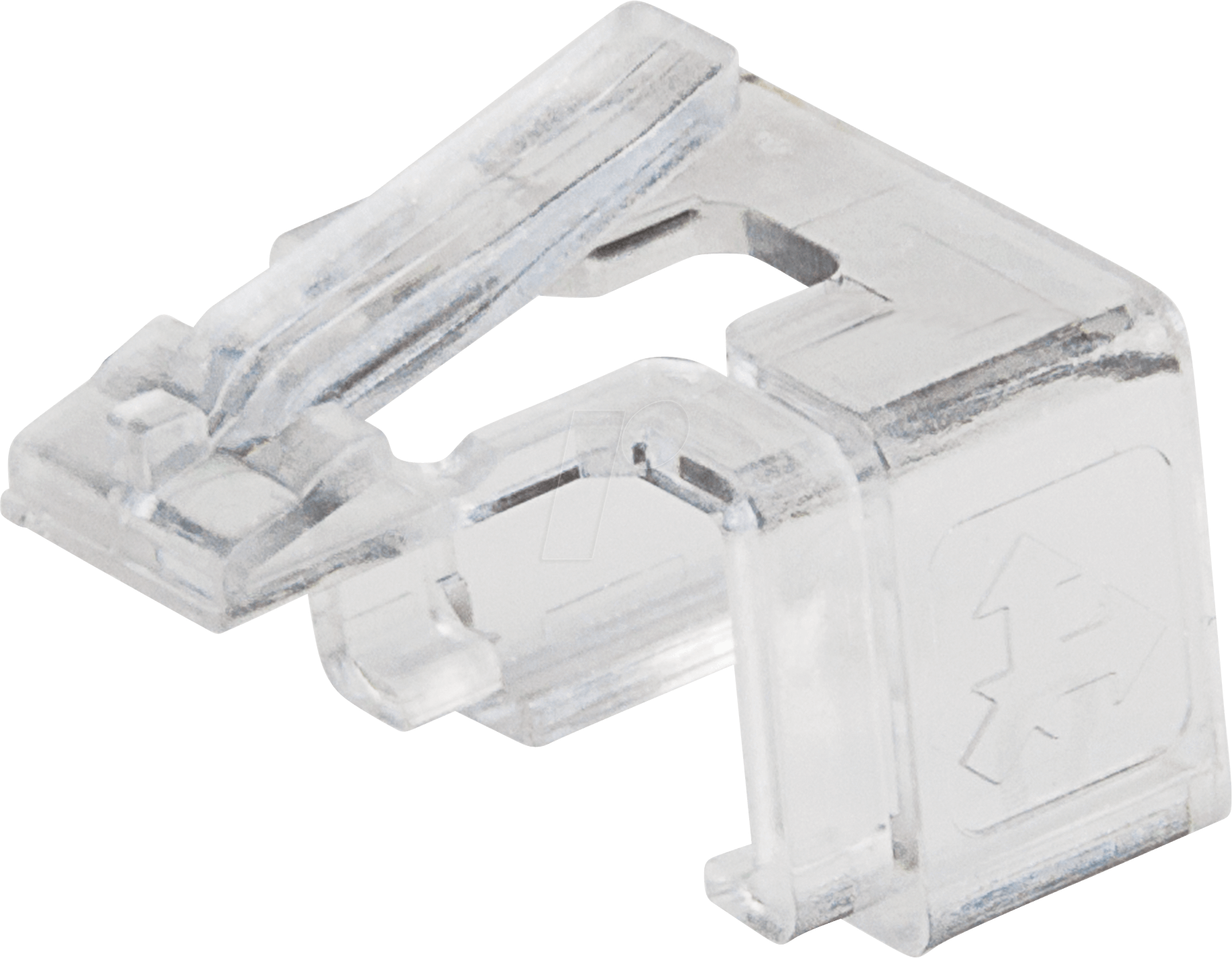INT 771436 - RJ45-Reparaturclips, transparent, 50 Stk von Intellinet