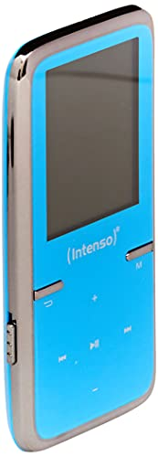 Intenso Video Scooter MP3-Videoplayer (4,5 cm (1,8 Zoll) Display inkl. 8GB micro SD-Karte) blau von Intenso