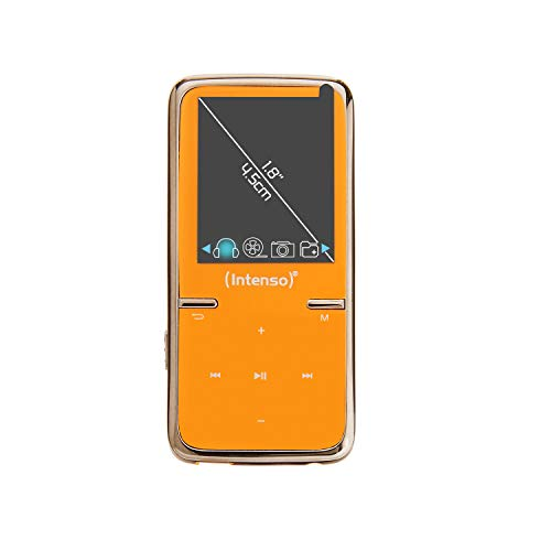 Intenso Video Scooter MP3-Videoplayer (4,5 cm (1,8 Zoll) Display inkl. 8GB micro SD-Karte) orange von Intenso