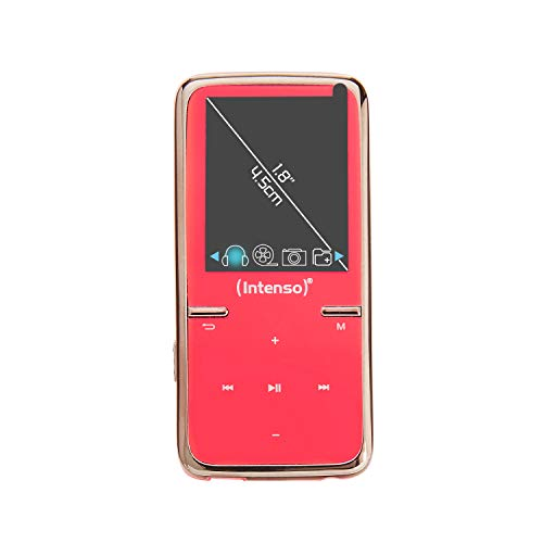 Intenso Video Scooter MP3-Videoplayer (4,5 cm (1,8 Zoll) Display inkl. 8GB micro SD-Karte) pink von Intenso