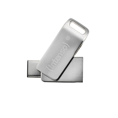 Intenso cMobile Line 64GB Dual USB-Stick USB 3.1 Type-C silber von Intenso