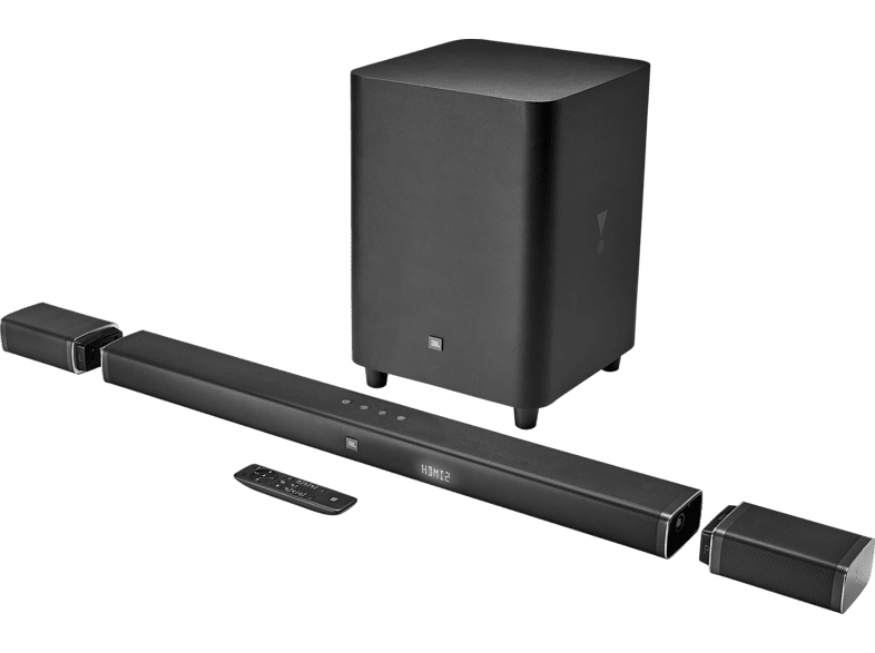 JBL Bar 5.1 Surround, Soundbar, Schwarz von JBL