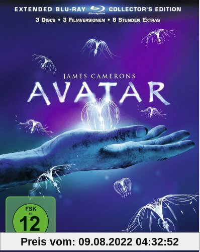 Avatar - Aufbruch nach Pandora (Extended Collector's Edition) [Blu-ray] von James Cameron