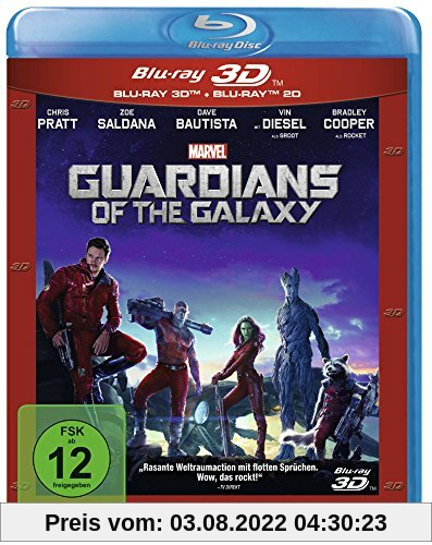 Guardians of the Galaxy - 3D + 2D [3D Blu-ray] von James Gunn