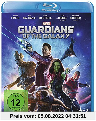 Guardians of the Galaxy [Blu-ray] von James Gunn