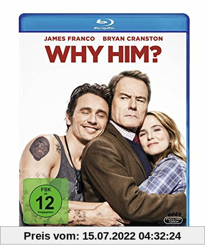 Why him? [Blu-ray] von John Hamburg