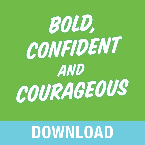 Bold, Confident & Courageous: You Can Live Free from the Grip of Fear and Do It Afraid, Hörbuch, Digital, 1, 283min von Joyce Meyer
