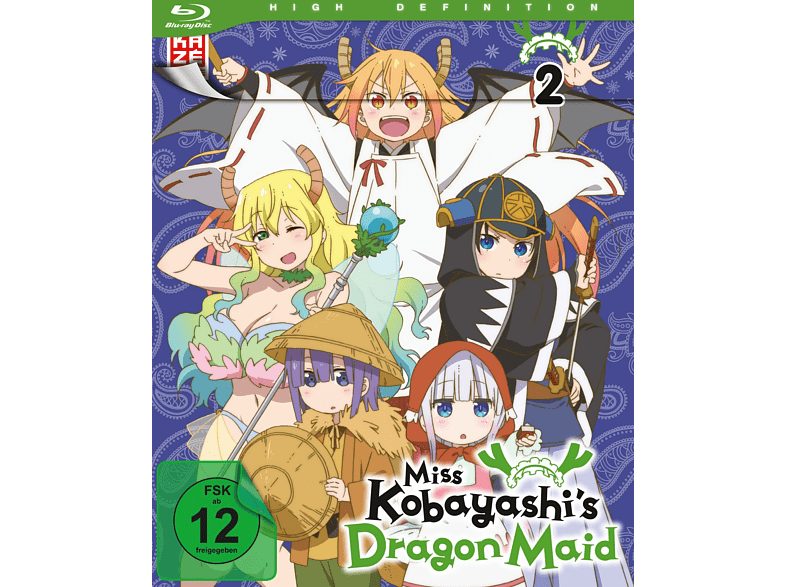 Miss Kobayashi's Dragon Maid Blu-ray von KAZÉ