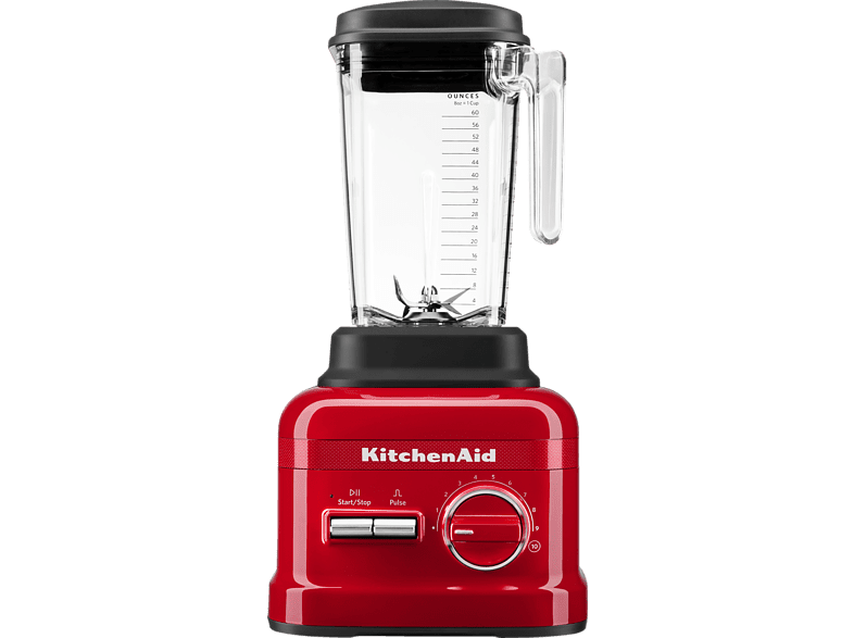 KITCHENAID 5KSB6060HESD Queen of Hearts Standmixer Rot (1800 Watt, 2.6 Liter) von KITCHENAID