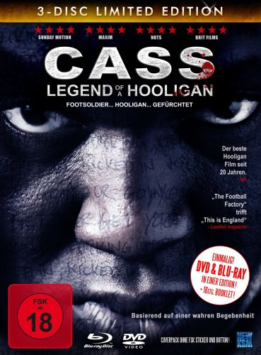 Cass - Legend Of A Hooligan (Limited Edition, 2 DVDs + Blu-ray) [Collector's Edition] von KSM GmbH