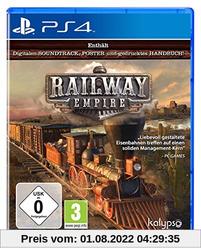 Railway Empire [Playstation 4] von Kalypso