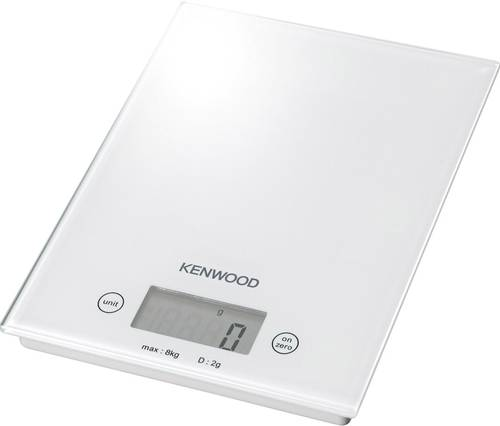Kenwood Home Appliance DS401 Digitale Küchenwaage Wägebereich (max.)=8kg Weiß von Kenwood Home Appliance