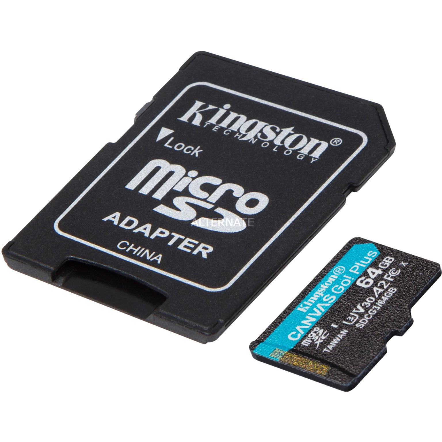 Canvas Go! Plus 64 GB microSDXC, Speicherkarte von Kingston