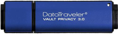 Kingston DataTraveler Vault Privacy 3.0 USB-Stick 8GB Blau DTVP30/8GB USB 3.0 von Kingston