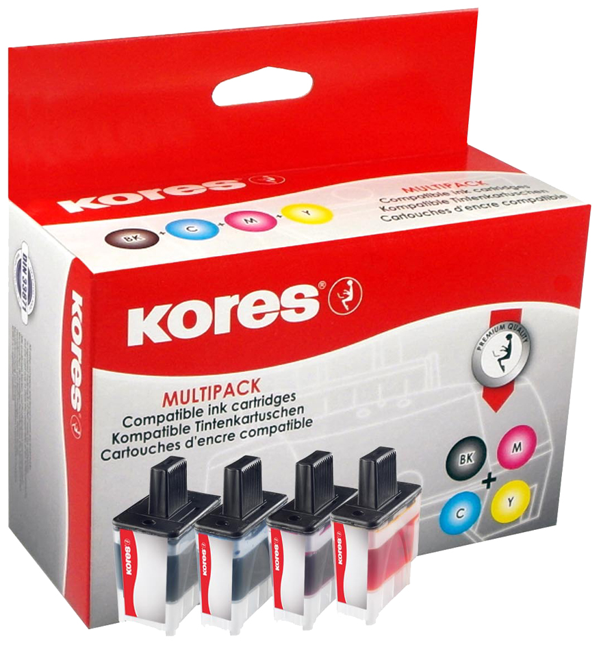 Kores Farbband Gruppe 154 Carbon schwarz ersetzt Anker Brother EM200 kompatibel
