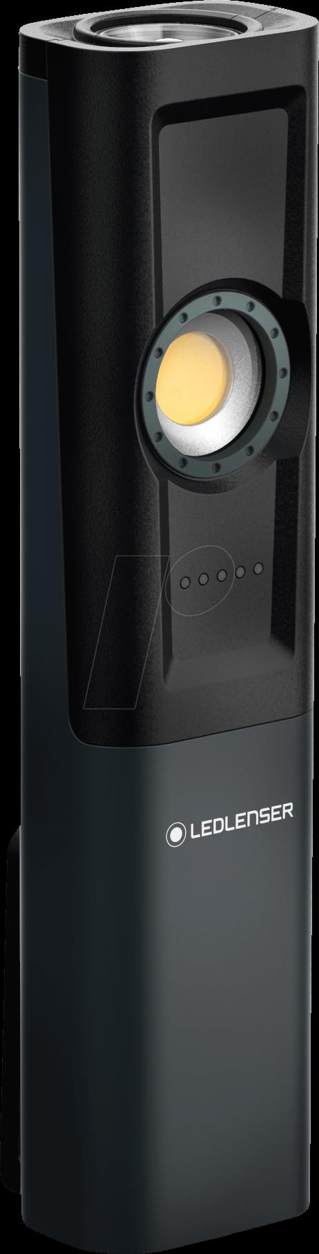 LED LENSER Stirnleuchte 5605-R iSeo5R 180//20Lm Leuchtw.120//40m 1xLi-Ion Akku