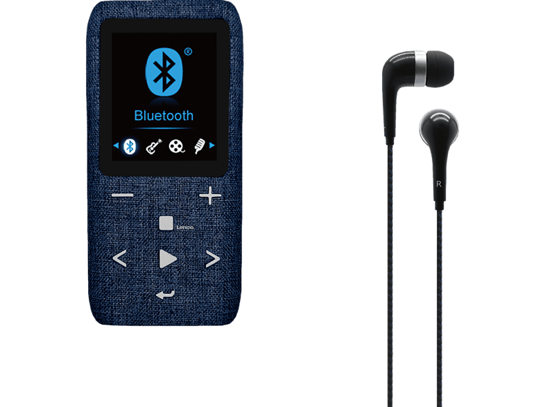 LENCO Xemio 861 MP3 Player 64 GB in Blau von LENCO