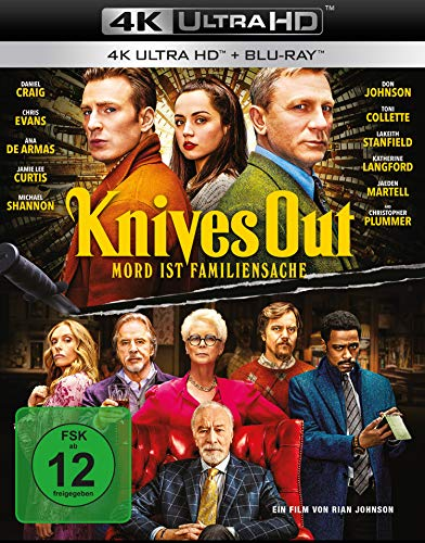 Knives Out - Mord ist Familiensache (4K Ultra HD) (+ Blu-ray 2D) von LEONINE Distribution GmbH