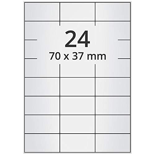 "1/"" 55 x 30 mm PP Polypropylen Etiketten 2000 wasserfeste Etiketten"