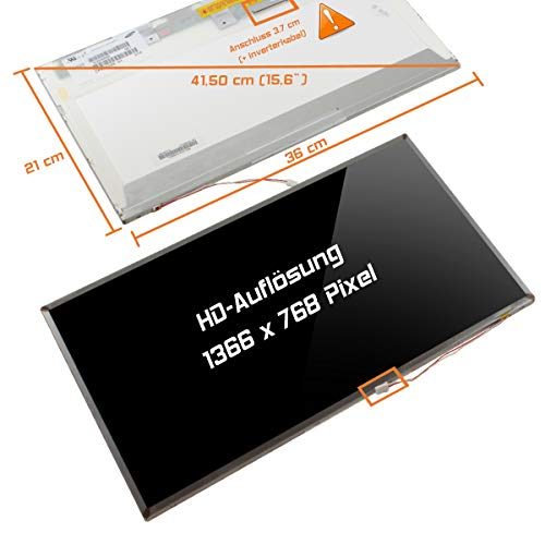 "Laptiptop 15,6"" LCD Display Screen 1CCFL Glossy Ersatz für Toshiba Pslv6u-00l001 1366x768 HD Bildschirm Panel von Laptiptop"