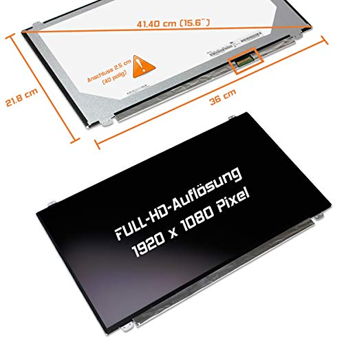 "Laptiptop 15,6"" LED Display Screen matt Ersatz für MSI PE62 7RD-1230XTR 1920x1080 FHD Bildschirm Panel von Laptiptop"