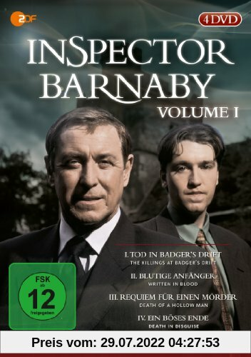 Inspector Barnaby, Vol. 01 [4 DVDs] von Laura Howard