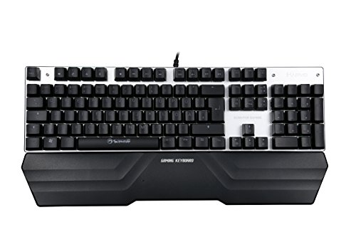 Marvo KG942 Mechanische Gaming-Tastatur Multi-Color RGB | QWERTZ deutsches Tastatur-Layout | 7 Makrotasten | 104 Tasten mit USB-Kabel von MARVO