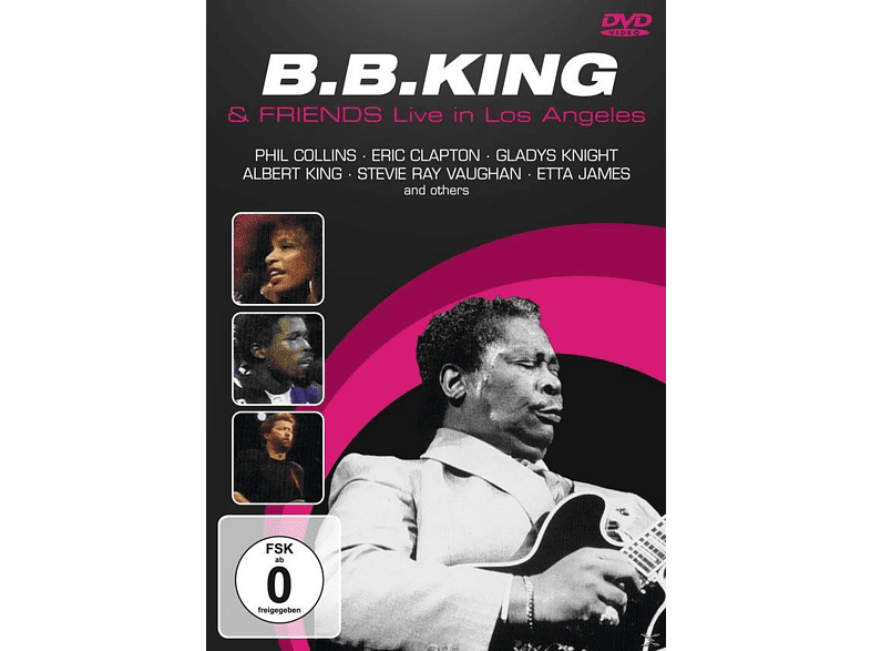 B. B. & Friends King - LIVE IN LOS ANGELES [DVD] von DVD